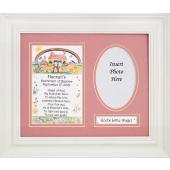 Personalized Baptismal Plaque Girl #MFS-NARKG-P