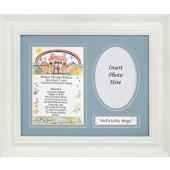 Personalized Newborn Baby Boy plaque #MFS-NBB-P