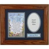 Sympathy Prayer to St. Francis of Assisi Frame 8x10 #MFS-O-PSTF