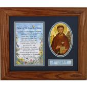 St. Francis of Assisi Frame 8x10 #MFS-O-STF