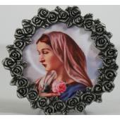 Mystical Rose Mini Pewter Frame #MPF-MR2