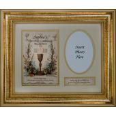 Personalized Communion 9x12 Plaque