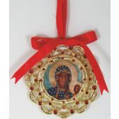 Our Lady of Czestochowa Ornament 1404-OLCZI