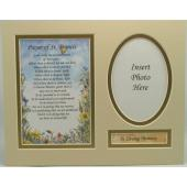 Prayer to St. Francis 8x10 Ready to frame mat #810M-PSTF