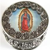 Guadalupe Rosary Box #PRBX-G