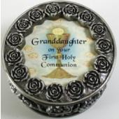 Granddaughter First Communion Rosary Box PRBX-HC5-GRD