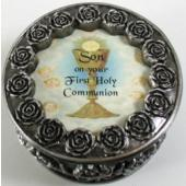 Son First Communion Rosary Box PRBX-HC5-S