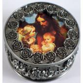 Jesus with Children Rosary Box #PRBX-JWC