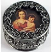 Madonna and Child  Rosary Box #PRBX-MCR