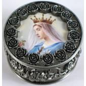 Queen of Heaven Rosary Box #PRBX-QH1