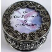 Confirmation Rosary Box #PRBX-SC1