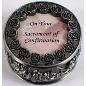 Confirmation Rosary Box #PRBX-SC2