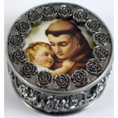 St. Anthony Rosary Box #PRBX-STA