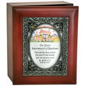 Baptismal Keepsake Box #SJBX-ARC