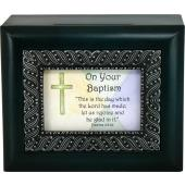 Baptismal Keepsake Box #SJBX-CRS