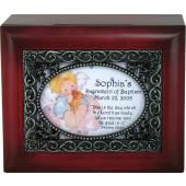 Personalized Baptismal Keepsake Box #SJBX-BAPK-P