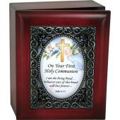Communion 4x5 Keepsake Box SJBX-COM2
