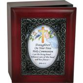 Daughter First Communion 4x5 Keepsake Box #SJBX-COM2-D