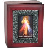The Divine Mercy 4x5 Keepsake Box SJBX-DM