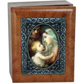 Holy Family 4x5 Keepsake Box SJBX-HF