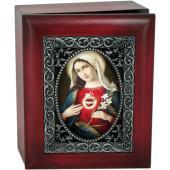 Immaculate Heart 4x5 Keepsake Box SJBX-IHM7