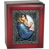 Madonna of the Streets Keepsake Box SJBX-MS