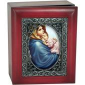 Madonna of the Streets Keepsake Box SJBX-MS