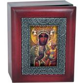 Our Lady Czestochowa 4x5 Keepsake box SJBX-OLCz
