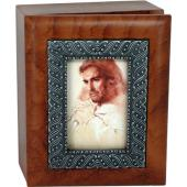 Prayerful Christ 4x5 Keepsake box SJBX-PC