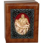 The Pieta 4x5 Keepsake box SJBX-PIE