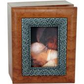 Pope JPII with Mary 4x5 Keepsake box SJBX-PM