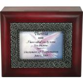 Personalized Confirmation Keepsake Box  #SJBX-SC1-P