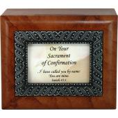 Confirmation Keepsake Box #SJBX-SC2