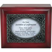 Confirmation Keepsake Box  #SJBX-SC3