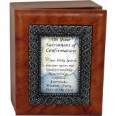 Confirmation Keepsake Box  #SJBX-SC5