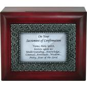 Confirmation Keepsake Box  #SJBX-SC6