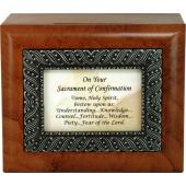 Confirmation Keepsake Box #SJBX-SC7