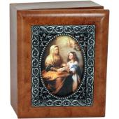 Saint Anne 4x5 Keepsake Box SJBX-STAN