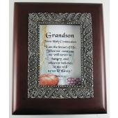 Grandson Communion 4x5 Keepsake Box #SJBX-COM3-GRS