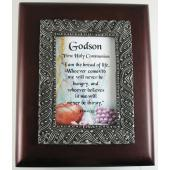 Godson First Communion 4x5 Keepsake Box #SJBX-COM3-GS