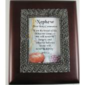 Nephew Communion 4x5 Keepsake Box #SJBX-COM3-NP