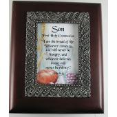 Son Communion 4x5 Keepsake Box #SJBX-COM3-S